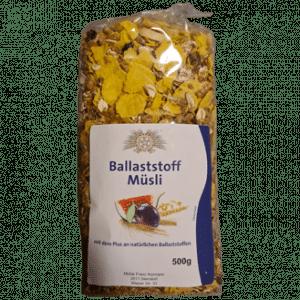 Ballaststoff Müsli mit dem Plus an natürlichen Ballaststoffen 500g - Sierndorfer Walzmühle