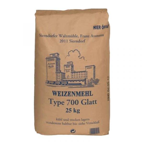 Gastro - W 700 Glatt 25kg - Assmann Perle
