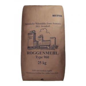Roggenmehl - R 960 25kg - Assmann Perle
