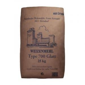 Spezial-Weizenmehl - W 700 Glatt 25kg - Assmann Perle